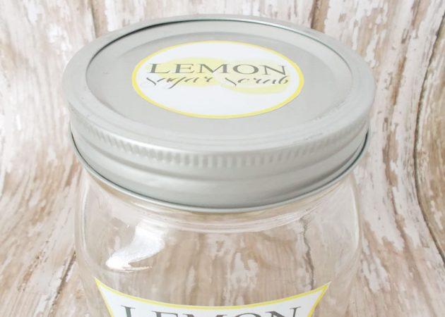 Сахарный скраб с ароматом лимона