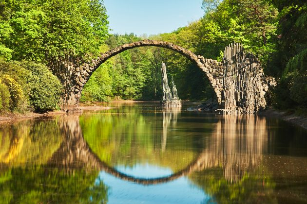 красивые мосты: Ракотцбрюке, Германия