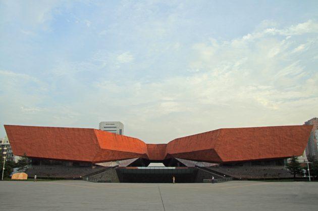 китайская архитектура: Музей революции в городе Ухань