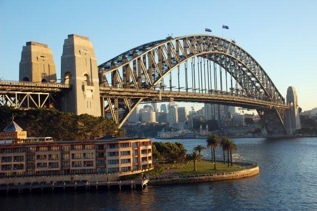 красивые мосты: Харбор-Бридж, Сидней