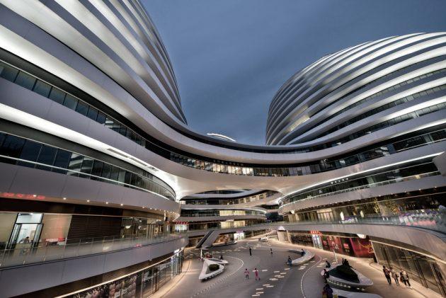 китайская архитектура: Комплекс Galaxy SOHO в Пекине