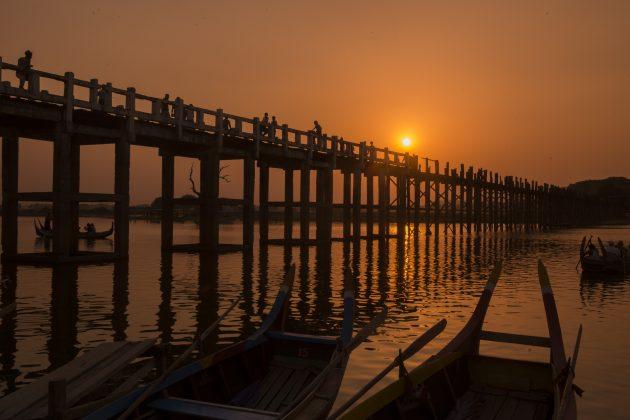 красивые мосты: Убэйн, Мьянма