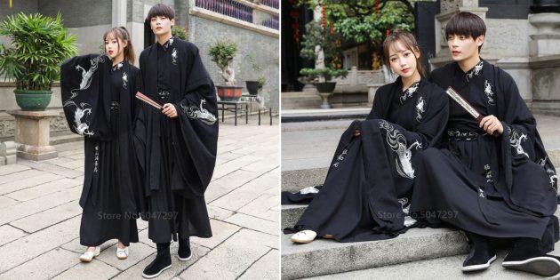 Новогодние костюмы для взрослых: самурай