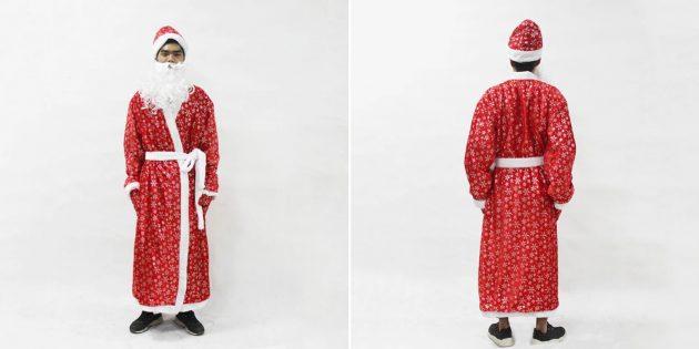 Новогодние костюмы для взрослых: Дед Мороз