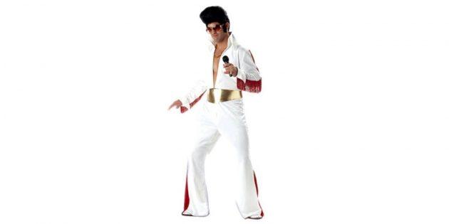 Новогодние костюмы для взрослых: Элвис Пресли