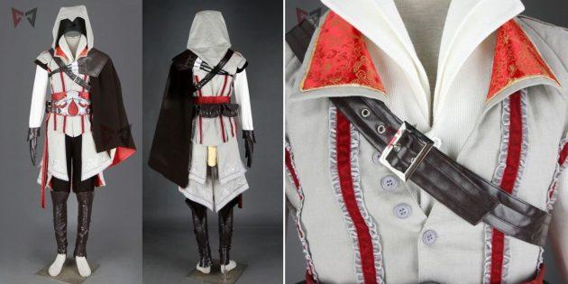 Новогодние костюмы для взрослых: ассасин