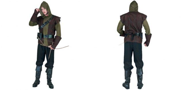 Новогодние костюмы для взрослых: Робин Гуд