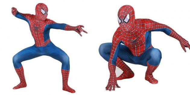 Новогодние костюмы для взрослых: Человек-паук