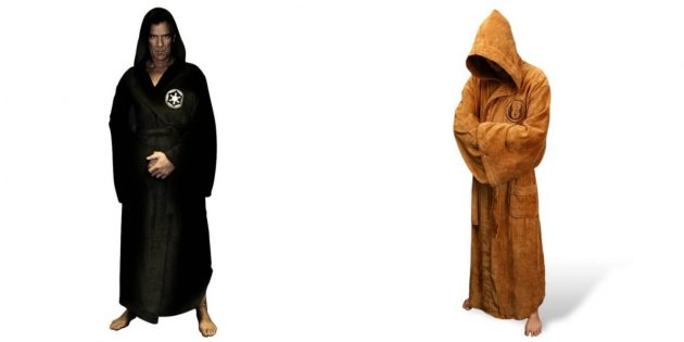 Новогодние костюмы для взрослых: джедай