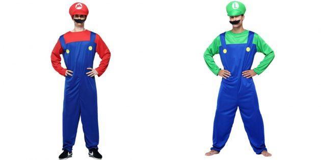 Новогодние костюмы для взрослых: Марио