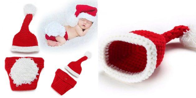 Новогодние костюмы для детей: маленький Санта