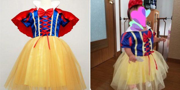 Новогодние костюмы для детей: Белоснежка