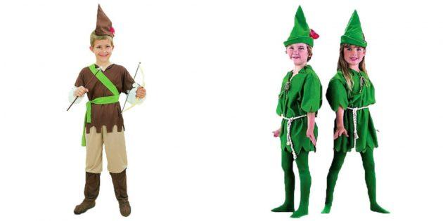 Новогодние костюмы для детей: Робин Гуд
