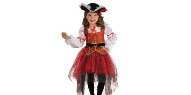 Новогодние костюмы для детей: разбойница