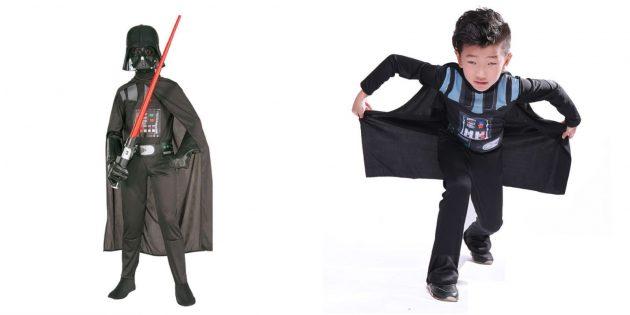 Новогодние костюмы для детей: Дарт Вейдер