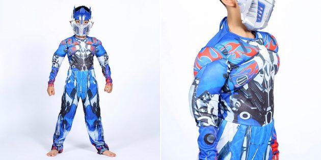 Новогодние костюмы для детей: Оптимус Прайм
