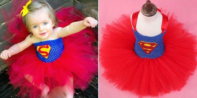 Новогодние костюмы для детей: Супердевочка