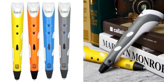 Что подарить парню на новый год: 3d-ручка