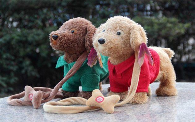 Что подарить ребёнку на Новый год: Собака на поводке