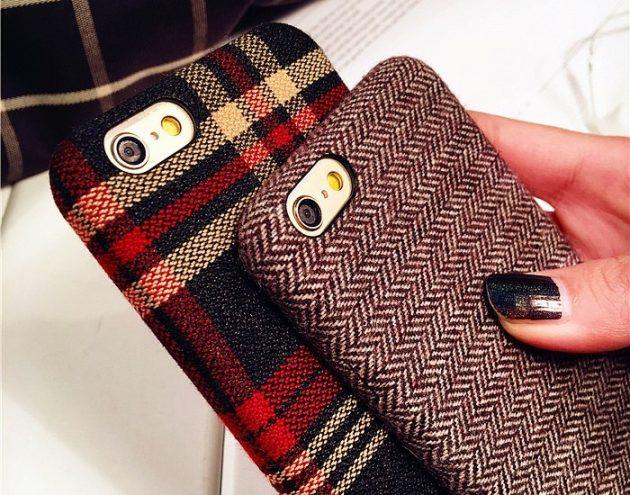 Шерстяные чехлы для iPhone