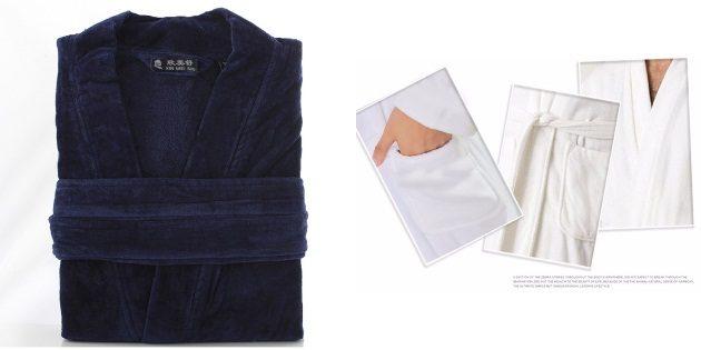 Подарки родителям на Новый год: Мужской халат
