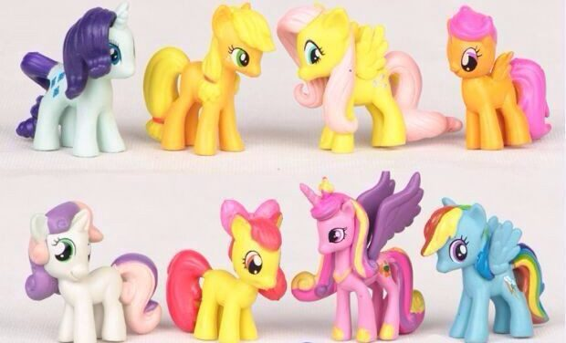 Фигурки из мультика My Little Pony