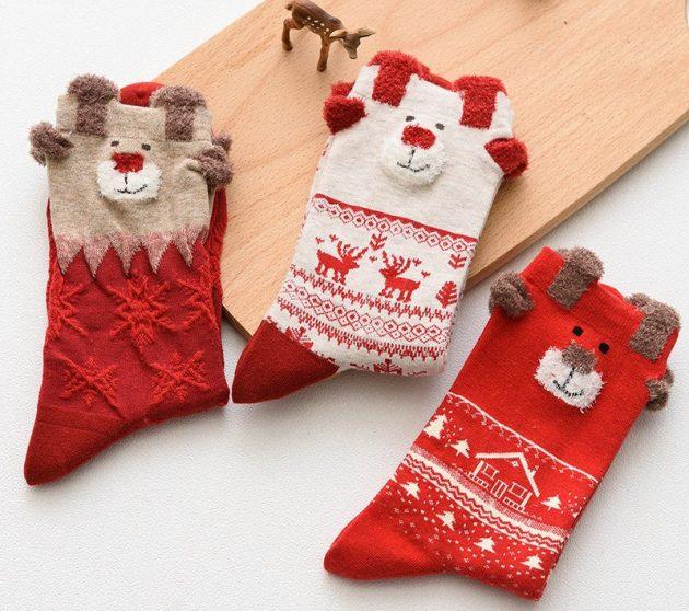 Недорогие подарки на Новый год: носки