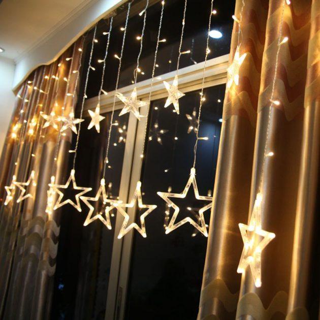 Гирлянда из звёзд