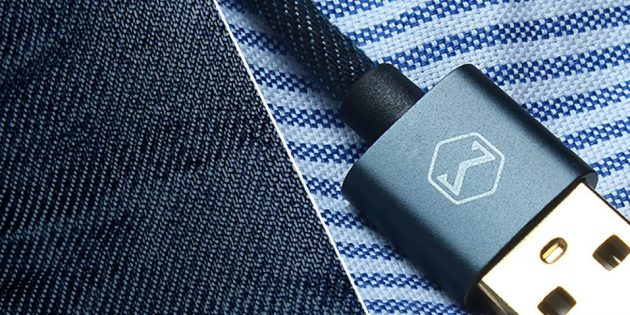 Кабель для iPhone из Китая: Mcdodo Denim Lightning Data Cable