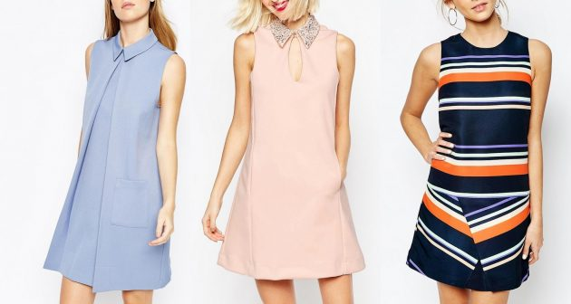 Как убрать бока с помощью одежды: платье-трапеция