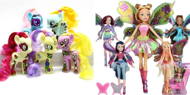 Подарки детям на Новый год: Коллекции любимых персонажей