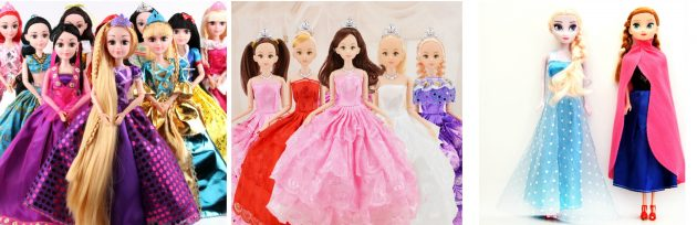 Что подарить девочке на Новый год: Барби и куклы-принцессы