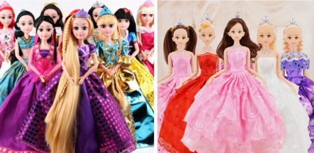 Подарки для девочки: куклы-принцессы