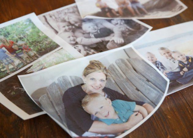 Подсвечники с семейными фотографиями
