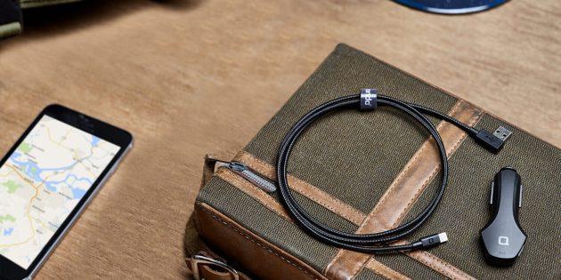Где купить хороший кабель для iPhone: Zus Kevlar Cable