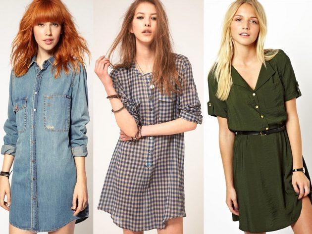 Как убрать бока с помощью одежды: платье-рубашка