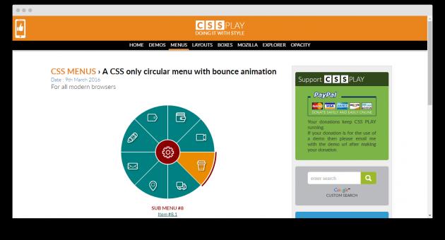 каскадные таблицы стилей: CSSPlay