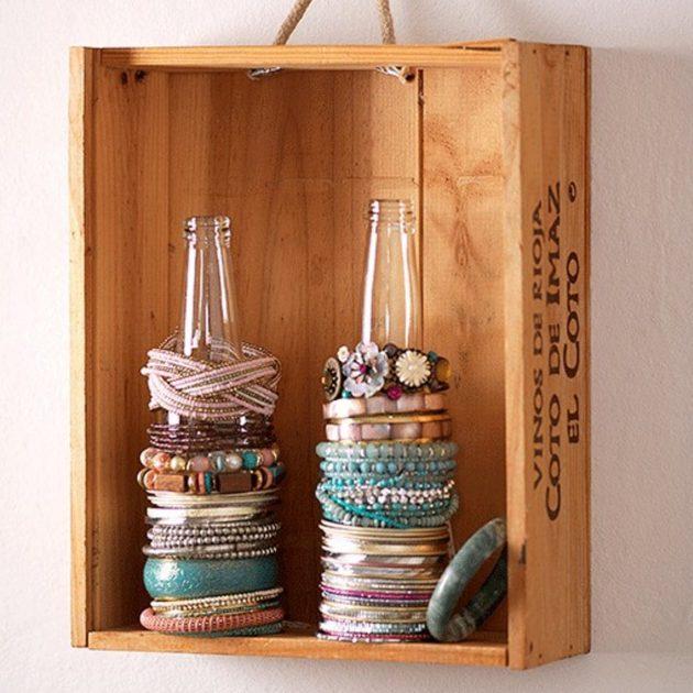 хранение мелочей: Бутылки для хранения браслетов