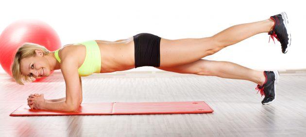 Как убрать бока с помощью упражнений: усложнённая планка