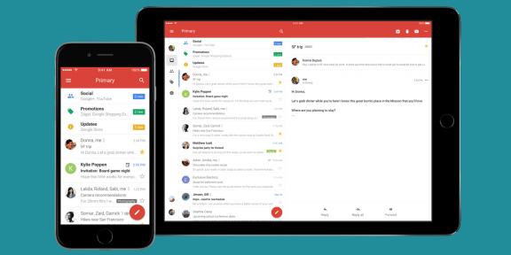 Google выпустила крупное обновление клиента Gmail для iOS