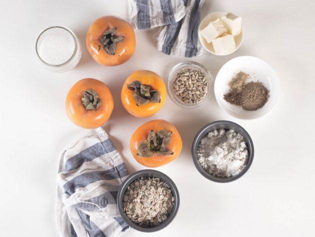 Идеи для завтрака: запечённая хурма