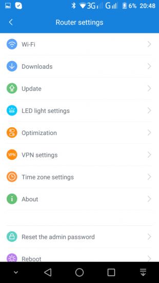 MiWiFi Router: Настройки роутера
