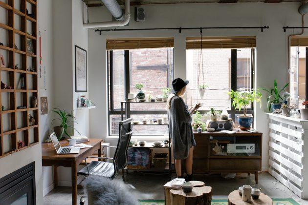 Как создать модный интерьер: разбейте мини-сад