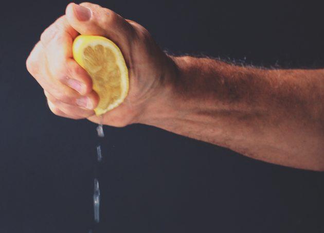 чем заменить соль: лимонный сок