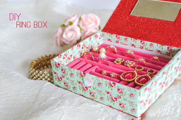 хранение мелочей: Коробка для колец