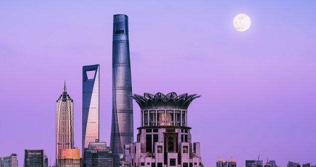 китайская архитектура: Шанхайская башня
