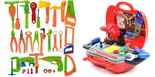 Что подарить мальчику: набор инструментов