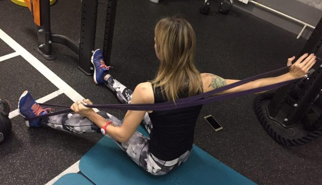 Растяжка приводящих мышц