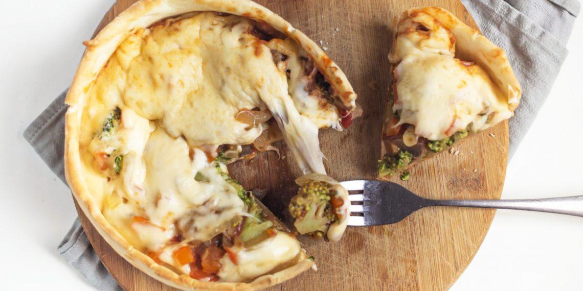 перевёрнутая пицца рецепт