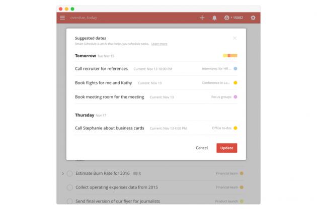 Todoist получил поддержку ИИ, который помогает лучше планировать своё время